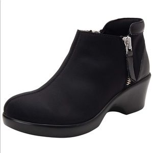 Alegria Women's Black Sloan Ankle Boots